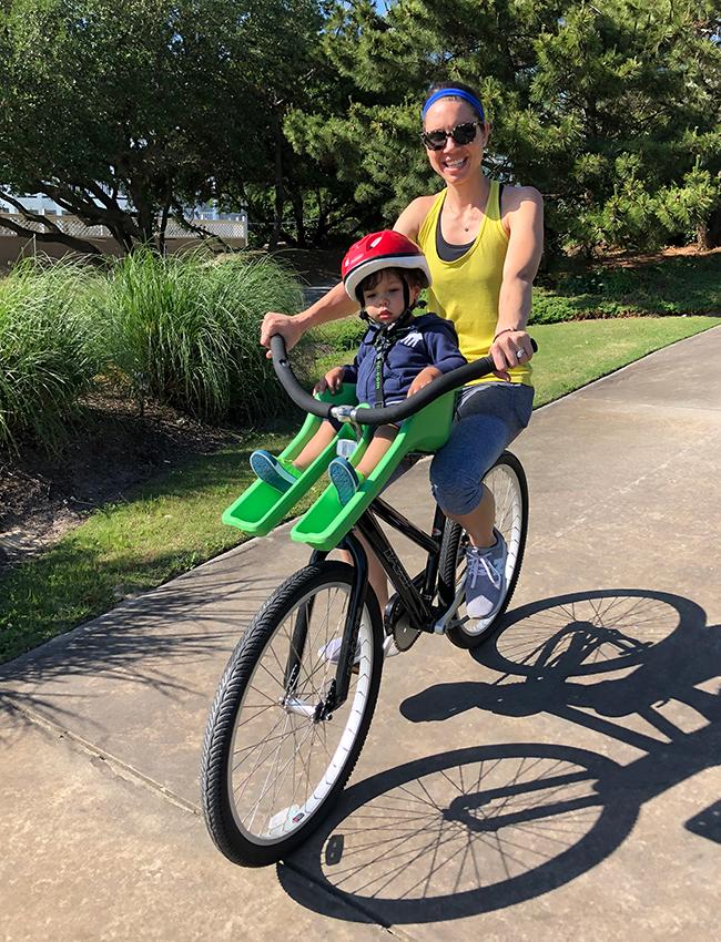Bike With Babyseat Moneysworth Beach