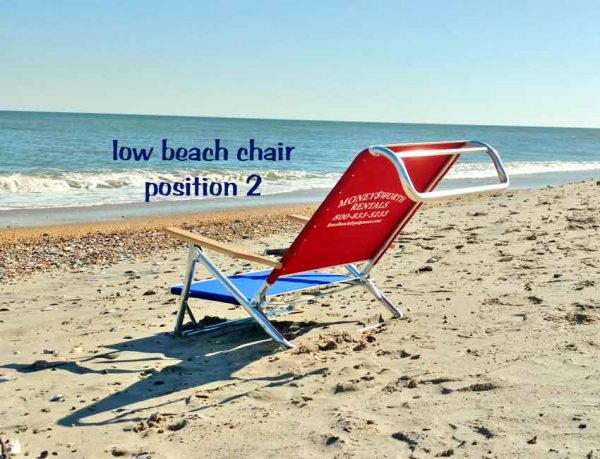 low beach chair position 2