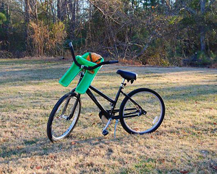 Bike W Baby Seat