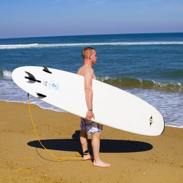 Person-holding-surfboard